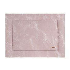 Baby's Only Boxkleed Marble oud roze/classic roze (85x100)