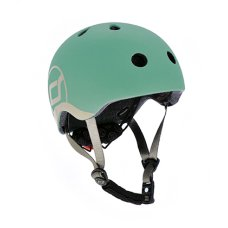 Scoot and Ride Helm XS Forest