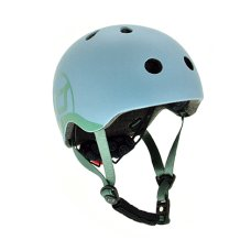 Scoot and Ride Helm XS Steel