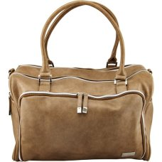 Isoki Luiertas Double Zip Satchel Latte