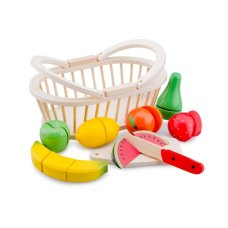 New Classic Toys Fruitset in Mandje