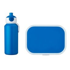 Mepal Drinkfles en Lunchbox Campus Blauw