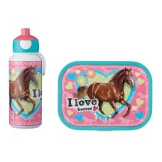 Mepal Drinkfles en Lunchbox Campus My Horse