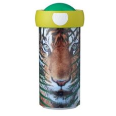 Mepal Schoolbeker Campus 300 ml Animal Planet Tijger Groen