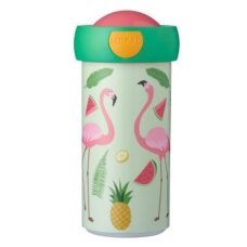 Mepal Schoolbeker Campus 300 ml Tropical Flamingo