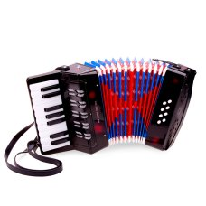New Classic Toys Accordeon Zwart