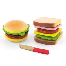 Viga toys Hamburger en Sandwich set