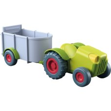 Haba Little Friends Trekker met Aanhangwagen