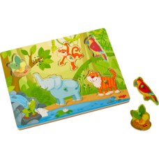 Haba Geluidenpuzzel in de Jungle