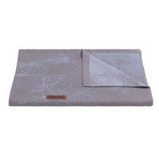 Baby's Only Wiegdeken Marble cool grey/lila
