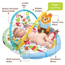 Yookidoo Speelkleed Gymotion Play N NAP