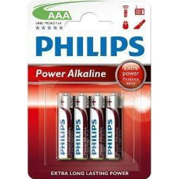Phillips Power Alkaline Batterij AAA